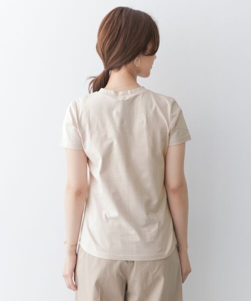 URBAN RESEARCH DOORS / アーバンリサーチ ドアーズ Tシャツ | スペインコットンVネックTシャツ | 詳細11