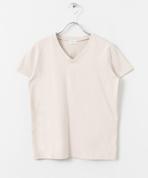 URBAN RESEARCH DOORS / アーバンリサーチ ドアーズ Tシャツ | スペインコットンVネックTシャツ | 詳細15