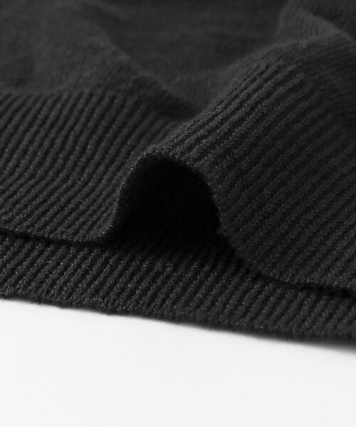 URBAN RESEARCH DOORS / アーバンリサーチ ドアーズ ニット・セーター | リネンフレンチスリーブニット | 詳細23