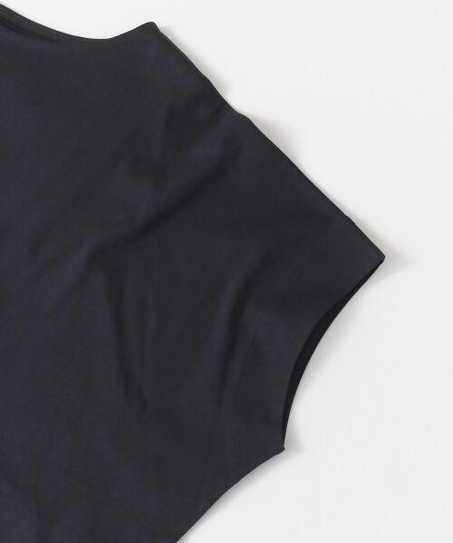 URBAN RESEARCH DOORS / アーバンリサーチ ドアーズ Tシャツ | バッククロスワイドカットソー | 詳細15