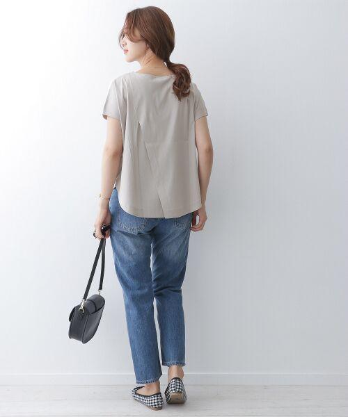 URBAN RESEARCH DOORS / アーバンリサーチ ドアーズ Tシャツ | バッククロスワイドカットソー | 詳細6