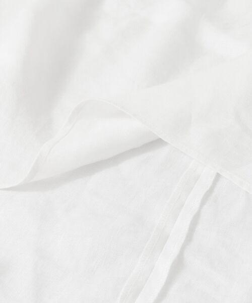 URBAN RESEARCH DOORS / アーバンリサーチ ドアーズ シャツ・ブラウス | リネンフレンチタックブラウス | 詳細23