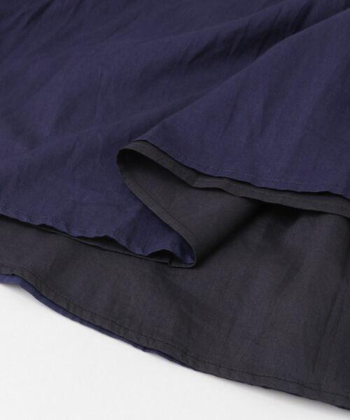 URBAN RESEARCH DOORS / アーバンリサーチ ドアーズ スカート | コットンギャザーリバーシブルスカート | 詳細22