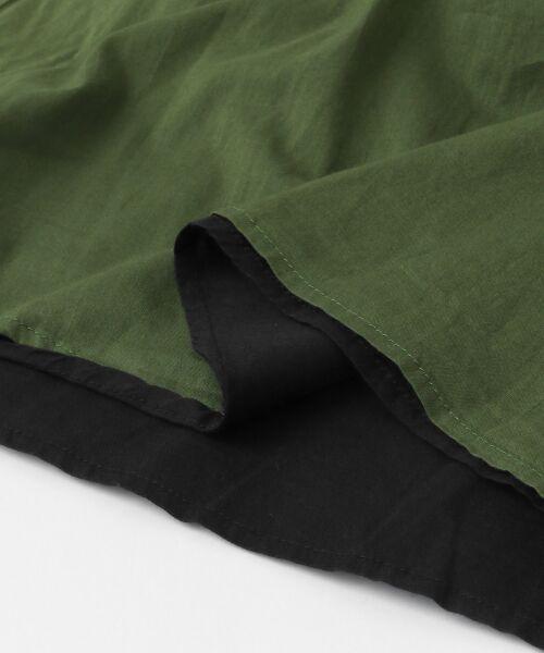 URBAN RESEARCH DOORS / アーバンリサーチ ドアーズ スカート | コットンギャザーリバーシブルスカート | 詳細23