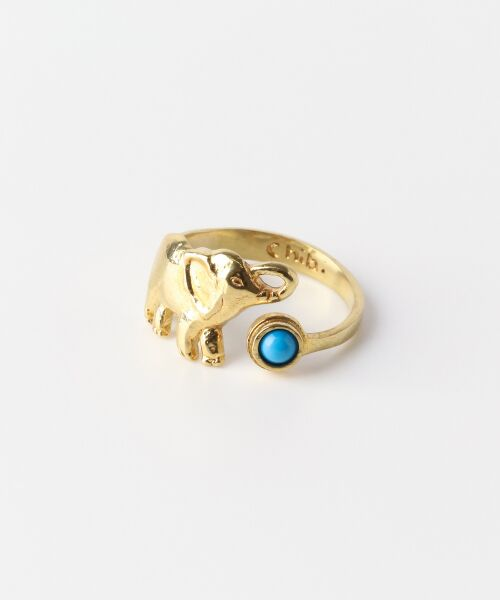17bd07647de99 セール chibi jewels Elephant Ring with Turquoise (リング)|URBAN ...