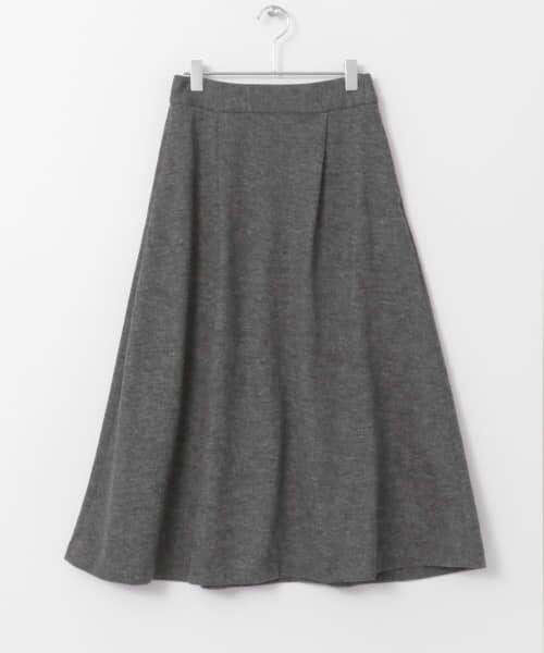 URBAN RESEARCH DOORS / アーバンリサーチ ドアーズ スカート | ウールフレアロングスカート | 詳細9