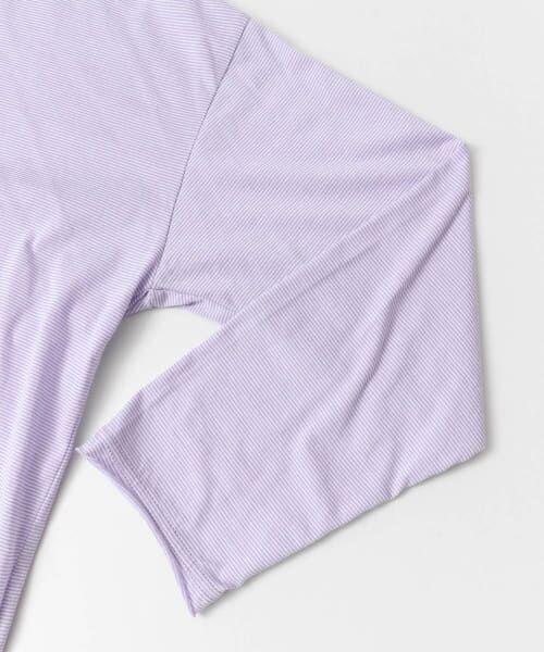 URBAN RESEARCH DOORS / アーバンリサーチ ドアーズ Tシャツ | ミジンボーダールーズカットソー | 詳細16