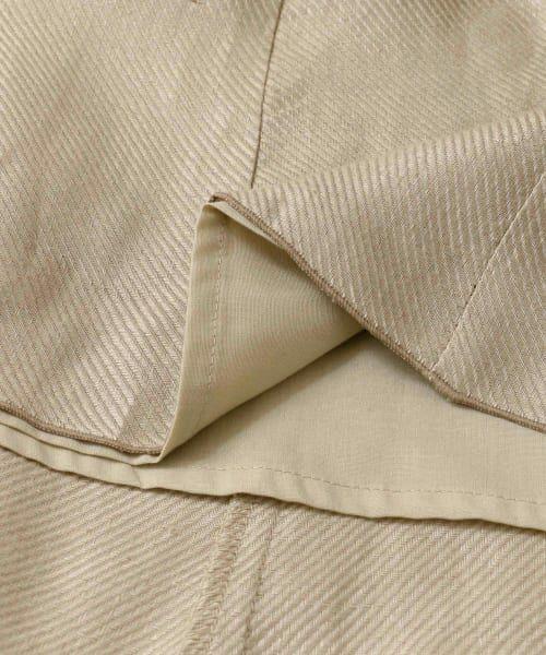 URBAN RESEARCH DOORS / アーバンリサーチ ドアーズ スカート | リネンフレアマキシスカート | 詳細18