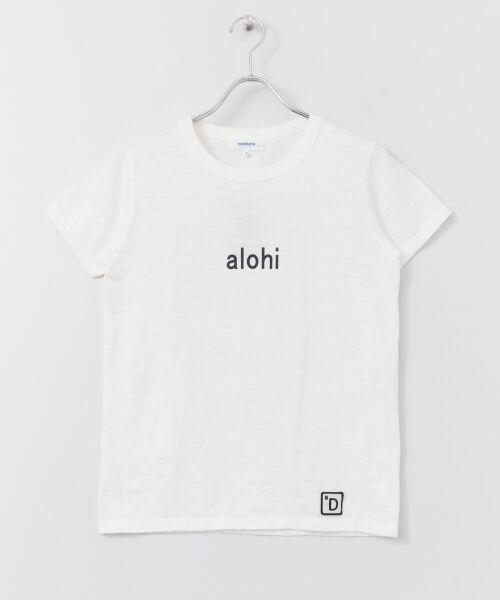 URBAN RESEARCH DOORS / アーバンリサーチ ドアーズ Tシャツ   melelana半袖Tシャツ(オフ)