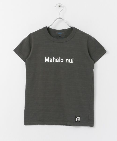 URBAN RESEARCH DOORS / アーバンリサーチ ドアーズ Tシャツ   melelana半袖Tシャツ(チャコール)