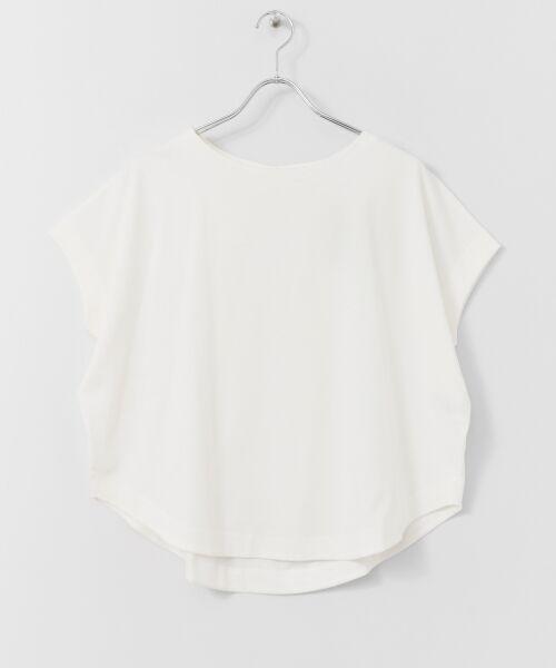 URBAN RESEARCH DOORS / アーバンリサーチ ドアーズ Tシャツ   バックタックワイドカットソー   詳細13