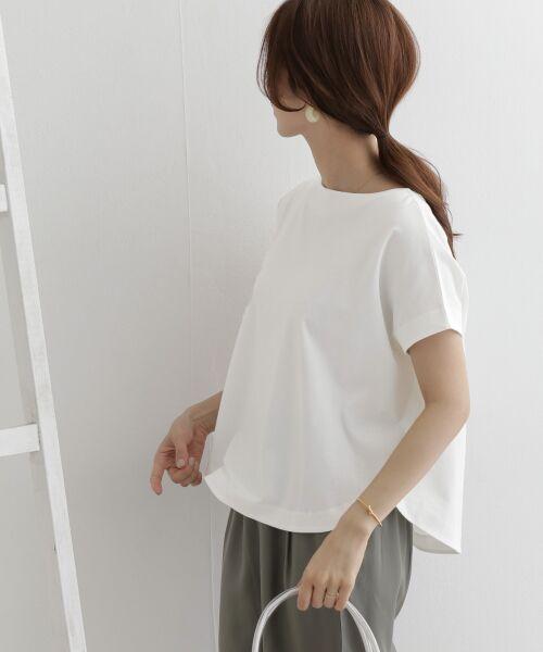 URBAN RESEARCH DOORS / アーバンリサーチ ドアーズ Tシャツ   バックタックワイドカットソー   詳細2