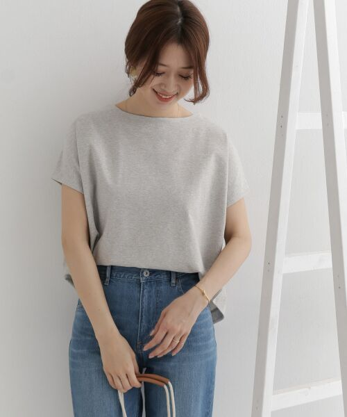 URBAN RESEARCH DOORS / アーバンリサーチ ドアーズ Tシャツ   バックタックワイドカットソー   詳細7