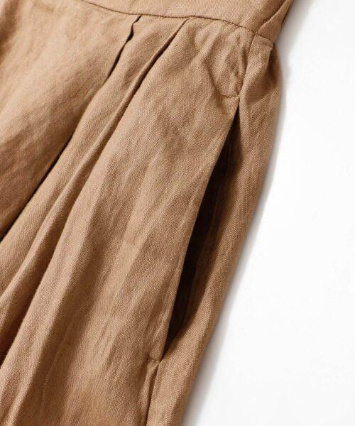 URBAN RESEARCH DOORS / アーバンリサーチ ドアーズ スカート | リネンタックロングスカート | 詳細20