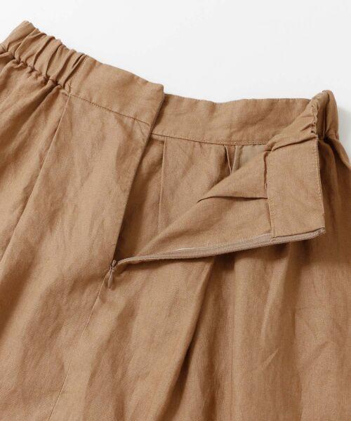 URBAN RESEARCH DOORS / アーバンリサーチ ドアーズ スカート | リネンタックロングスカート | 詳細22