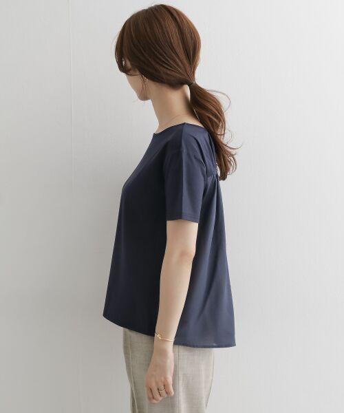 URBAN RESEARCH DOORS / アーバンリサーチ ドアーズ Tシャツ   バックシャーリングプルオーバー   詳細11