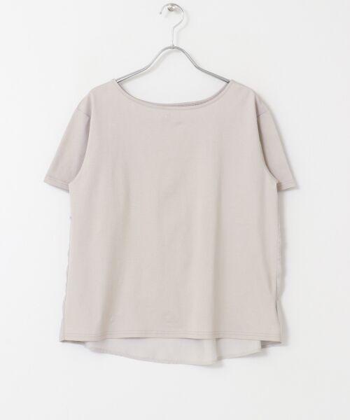URBAN RESEARCH DOORS / アーバンリサーチ ドアーズ Tシャツ   バックシャーリングプルオーバー   詳細13