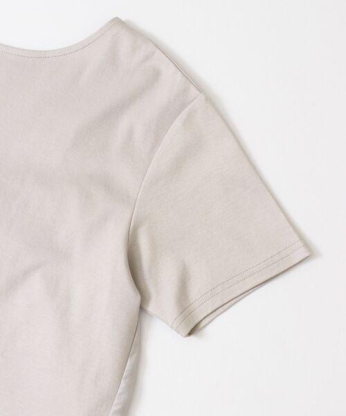 URBAN RESEARCH DOORS / アーバンリサーチ ドアーズ Tシャツ   バックシャーリングプルオーバー   詳細17