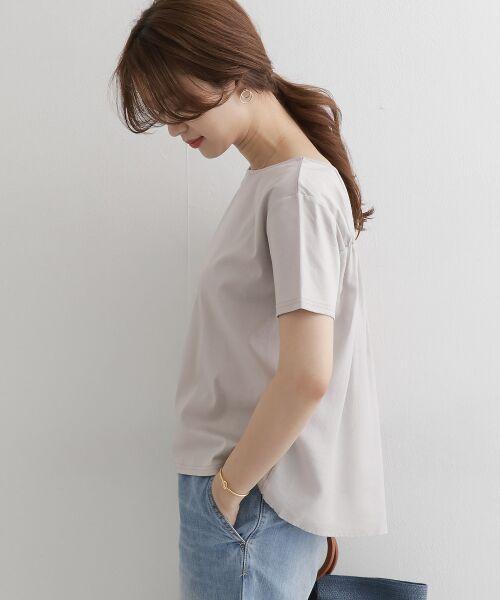 URBAN RESEARCH DOORS / アーバンリサーチ ドアーズ Tシャツ   バックシャーリングプルオーバー   詳細2