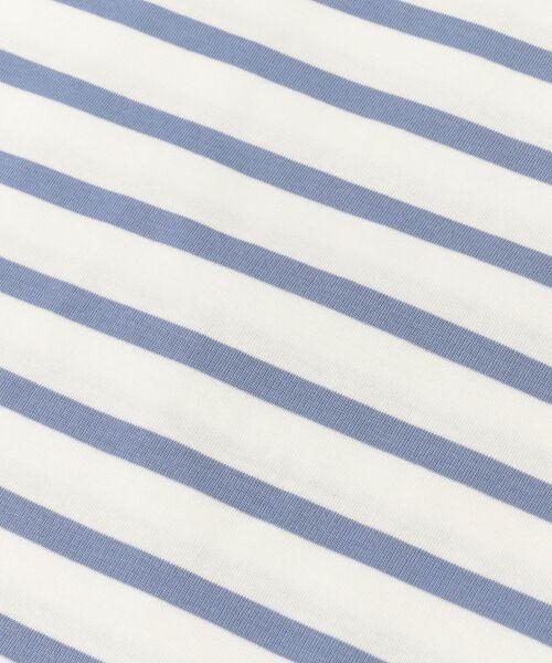 URBAN RESEARCH DOORS / アーバンリサーチ ドアーズ Tシャツ | シルケットボーダーカットソー | 詳細23
