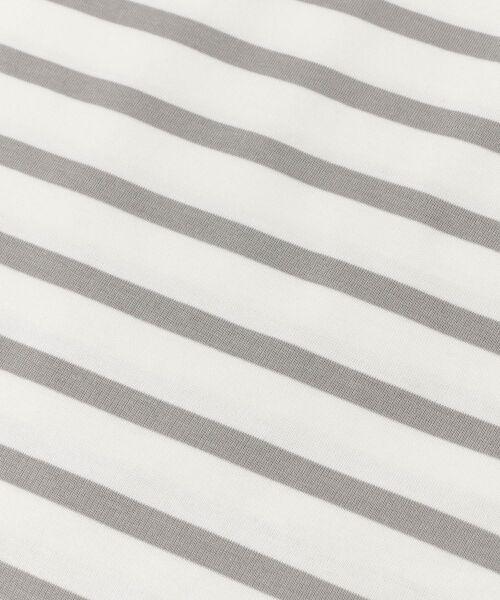 URBAN RESEARCH DOORS / アーバンリサーチ ドアーズ Tシャツ | シルケットボーダーカットソー | 詳細24
