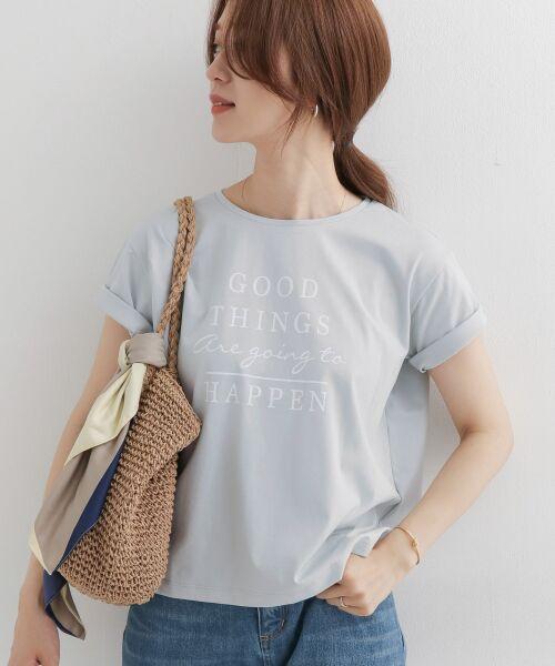 URBAN RESEARCH DOORS / アーバンリサーチ ドアーズ Tシャツ   GOOD THINGS T-SHIRTS(MINT)