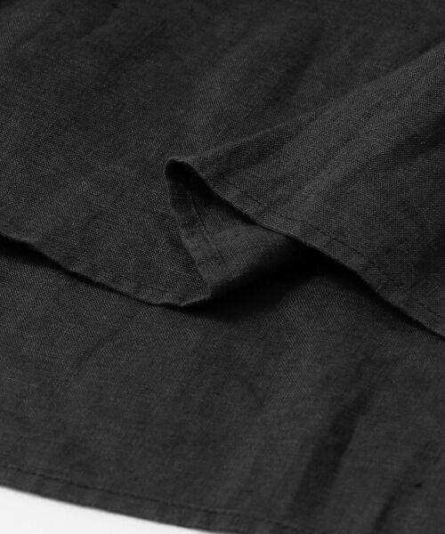 URBAN RESEARCH DOORS / アーバンリサーチ ドアーズ シャツ・ブラウス | リネンフロントピンタックブラウス | 詳細24