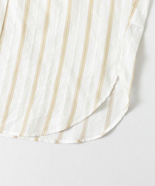 URBAN RESEARCH DOORS / アーバンリサーチ ドアーズ シャツ・ブラウス   ストライプコクーンシャツ   詳細15