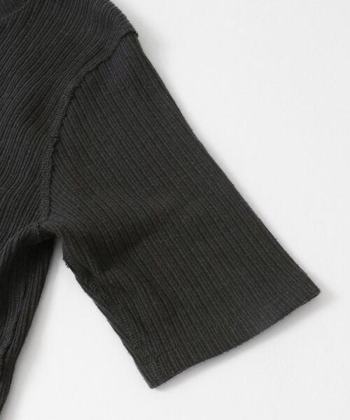 URBAN RESEARCH DOORS / アーバンリサーチ ドアーズ Tシャツ | FORK&SPOON コットンヘンプ5分袖Tシャツ | 詳細8