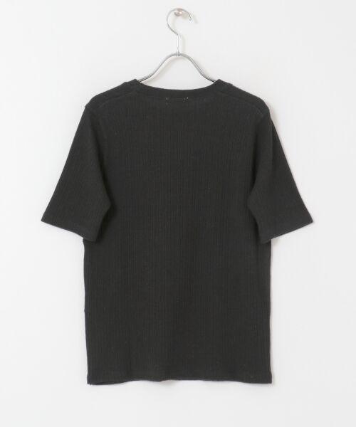 URBAN RESEARCH DOORS / アーバンリサーチ ドアーズ Tシャツ | FORK&SPOON コットンヘンプ5分袖Tシャツ | 詳細9