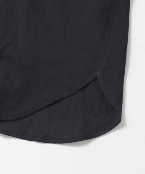 URBAN RESEARCH DOORS / アーバンリサーチ ドアーズ シャツ・ブラウス | ダブルガーゼスタンドカラーシャツ | 詳細20