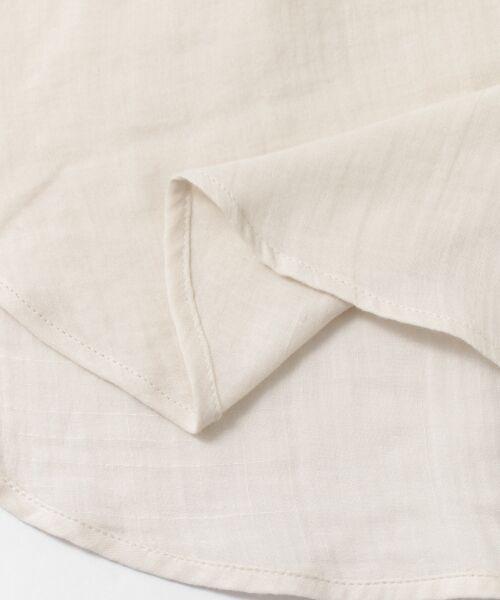 URBAN RESEARCH DOORS / アーバンリサーチ ドアーズ シャツ・ブラウス | ダブルガーゼスタンドカラーシャツ | 詳細24