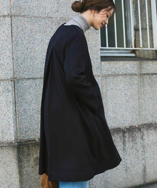 URBAN RESEARCH DOORS / アーバンリサーチ ドアーズ その他アウター   ウールノーカラーコート   詳細12