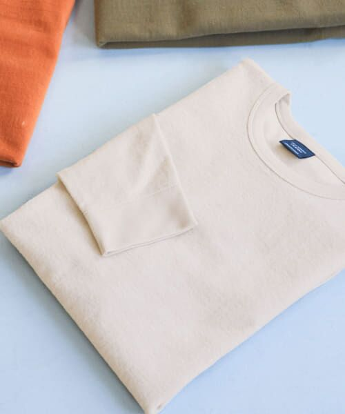 URBAN RESEARCH DOORS / アーバンリサーチ ドアーズ Tシャツ | ヘビーウェイトシャギープルオーバー(Greige)