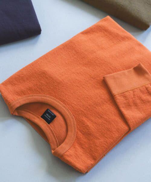 URBAN RESEARCH DOORS / アーバンリサーチ ドアーズ Tシャツ | ヘビーウェイトシャギープルオーバー(Terracotta)