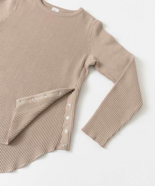 URBAN RESEARCH DOORS / アーバンリサーチ ドアーズ Tシャツ | サイドスナップカットソー | 詳細20