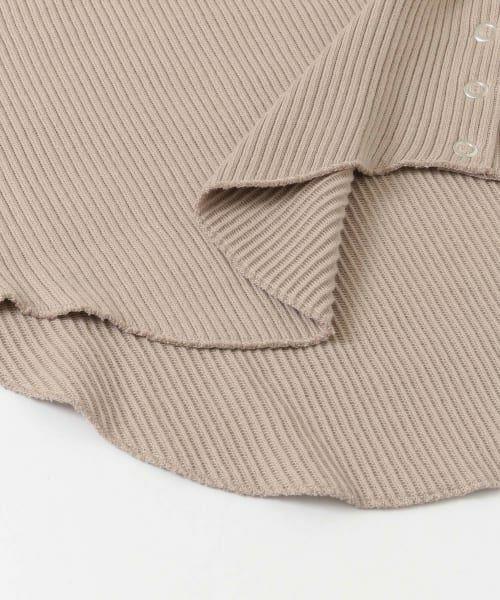 URBAN RESEARCH DOORS / アーバンリサーチ ドアーズ Tシャツ | サイドスナップカットソー | 詳細22