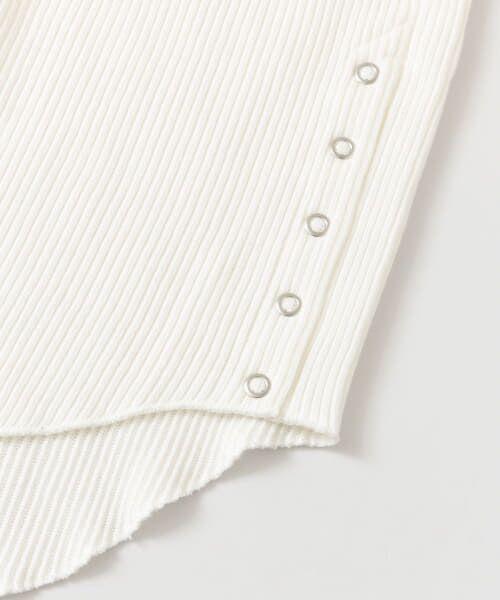 URBAN RESEARCH DOORS / アーバンリサーチ ドアーズ Tシャツ | サイドスナップカットソー | 詳細23