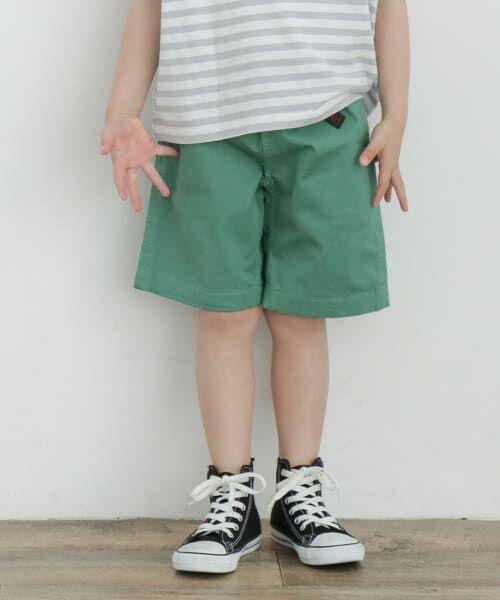 URBAN RESEARCH DOORS / アーバンリサーチ ドアーズ パンツ | 【別注】GRAMICCI×DOORS KIDS G-SHORTS(KIDS)(グリーン)