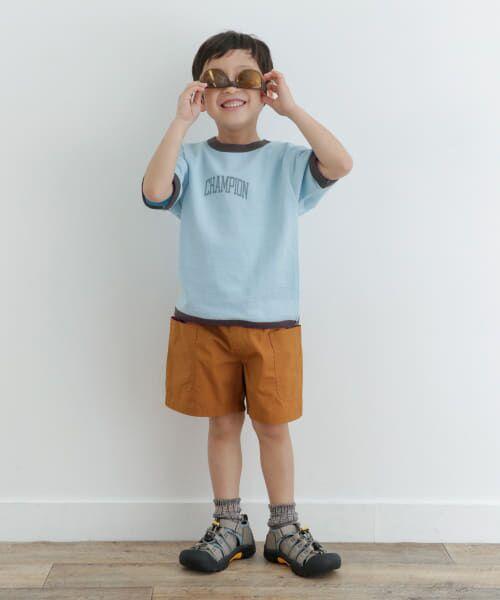 URBAN RESEARCH DOORS / アーバンリサーチ ドアーズ トップス | Champion×DOORS インレイリンガーT-SHIRTS(KIDS) | 詳細10