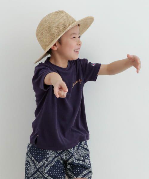 URBAN RESEARCH DOORS / アーバンリサーチ ドアーズ トップス | Champion×DOORS パイル刺繍T-SHIRTS(KIDS) | 詳細4