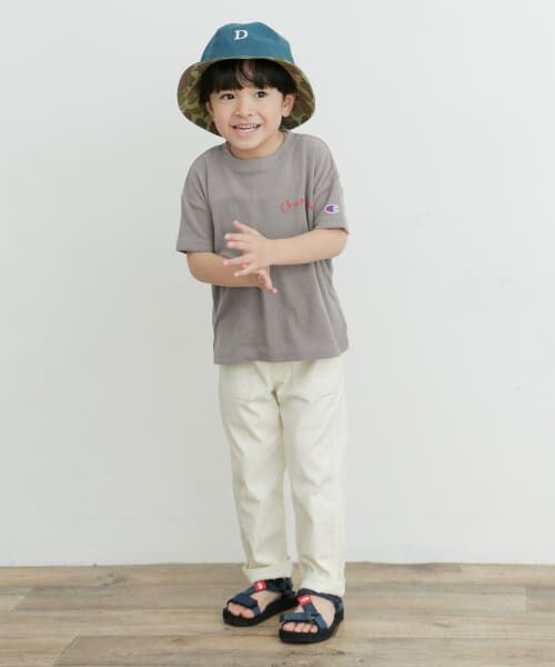 URBAN RESEARCH DOORS / アーバンリサーチ ドアーズ トップス | Champion×DOORS パイル刺繍T-SHIRTS(KIDS) | 詳細7