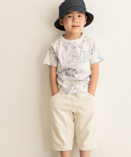URBAN RESEARCH DOORS / アーバンリサーチ ドアーズ トップス | LEE KIDS LOGO EMBROIDERY T-SHIRTS(KIDS)(NAVY)