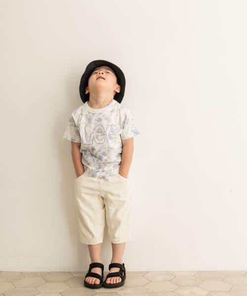 URBAN RESEARCH DOORS / アーバンリサーチ ドアーズ トップス | LEE KIDS LOGO EMBROIDERY T-SHIRTS(KIDS) | 詳細10