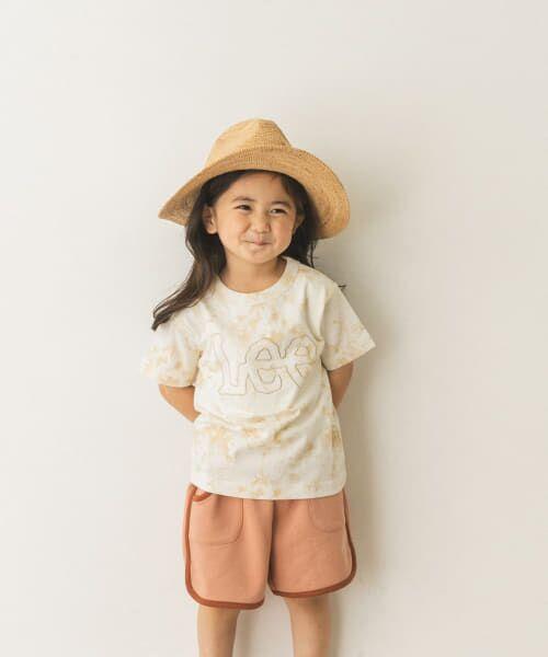 URBAN RESEARCH DOORS / アーバンリサーチ ドアーズ トップス | LEE KIDS LOGO EMBROIDERY T-SHIRTS(KIDS) | 詳細2