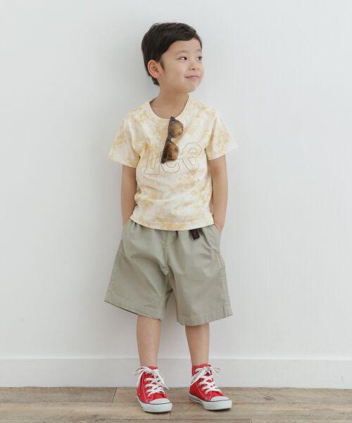 URBAN RESEARCH DOORS / アーバンリサーチ ドアーズ トップス | LEE KIDS LOGO EMBROIDERY T-SHIRTS(KIDS) | 詳細7