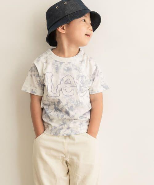 URBAN RESEARCH DOORS / アーバンリサーチ ドアーズ トップス | LEE KIDS LOGO EMBROIDERY T-SHIRTS(KIDS) | 詳細8