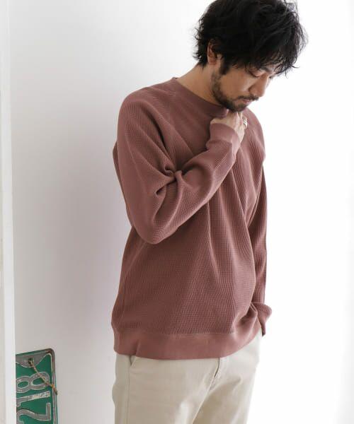 URBAN RESEARCH DOORS / アーバンリサーチ ドアーズ Tシャツ | ワッフルラグランプルオーバー | 詳細2