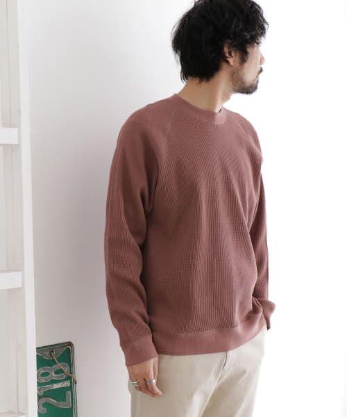 URBAN RESEARCH DOORS / アーバンリサーチ ドアーズ Tシャツ | ワッフルラグランプルオーバー | 詳細3
