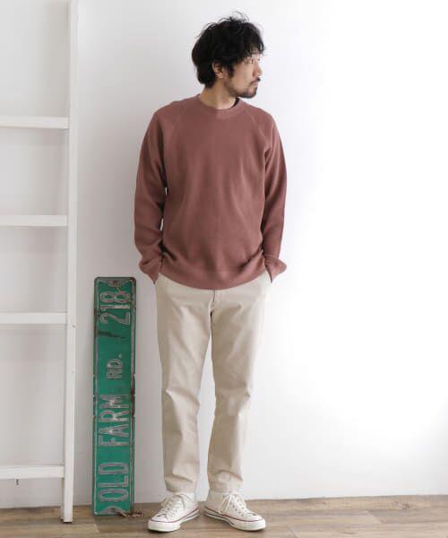 URBAN RESEARCH DOORS / アーバンリサーチ ドアーズ Tシャツ | ワッフルラグランプルオーバー | 詳細4